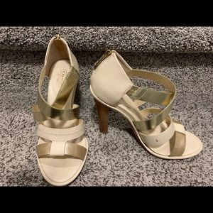 Coach Strappy Leather Heels